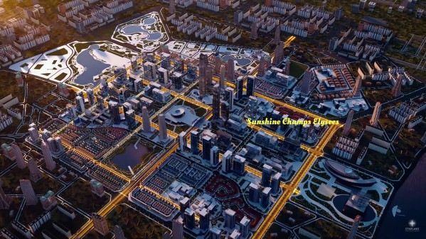 Dự án Sunshine Champs Elysees(Elysées) khu đô thị Starlake Tây Hồ Tây Hà Nội