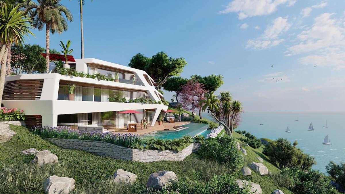 Biệt thự đồi nối biển Sunshine Heritage Mũi Né như kiệt tác hòa ca giữa kiến trúc và cảnh quan