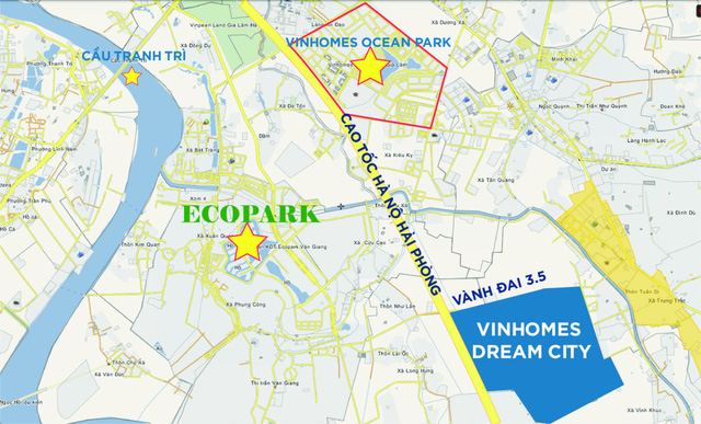 Đại đô thị 460ha với khu phức hợp bể bơi tạo sóng lớn nhất thế giới chuẩn bị được xây dựng tại Văn Giang, Hưng Yên - Ảnh 1.